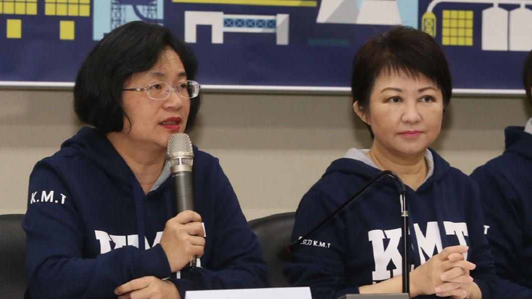 國民黨要贏回中台灣,王惠美(左)、盧秀燕(右)能解決多少派系矛盾是關鍵。圖/新新聞 【新新聞】決戰中台灣!綠占行政優勢、藍靠他們黏合派系