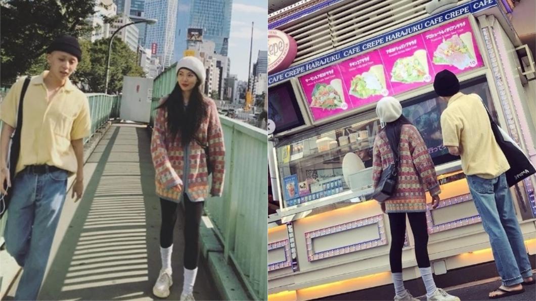 韓國女星泫雅與師弟團PENTAGON的成員E'Dawn交往。圖/翻攝自泫雅Instagram