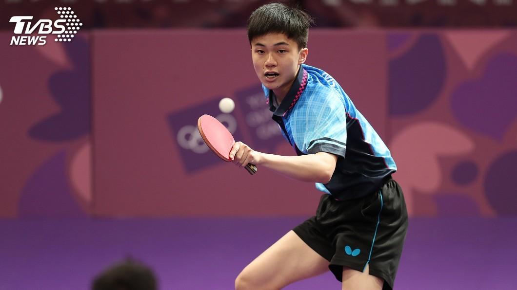 圖/中央社資料畫面 林昀儒摘2勝 中華男團擊敗奈及利亞晉級8強