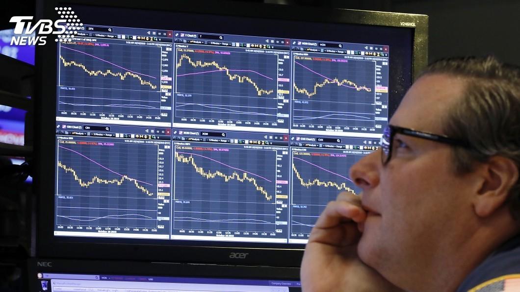 圖/達志影像美聯社 美中貿易戰拖累 美股崩盤創2月以來最大跌幅