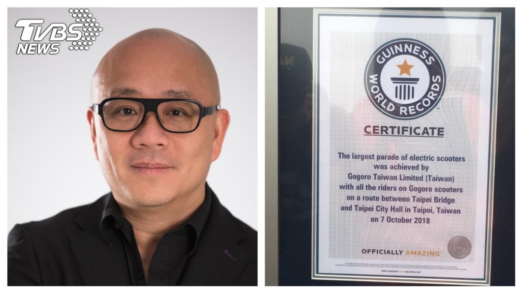 一手打造Gogoro電動車的睿能創意創辦人陸學森(左),有台灣賈伯斯之稱,曾是前宏達電創意長,深受宏達電董事長王雪紅器重,創立Gogoro時,王雪紅成為第一個投資Gogoro的企業家。   圖/TVBS