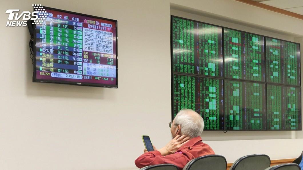 圖/中央社 台股創史上最大盤中跌點 逾500家上市櫃公司跌停