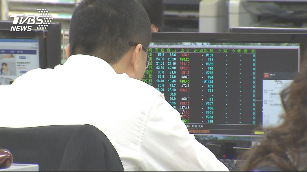 示意圖/TVBS 貿易戰升溫 景氣股市樂觀指數創今年最大跌幅