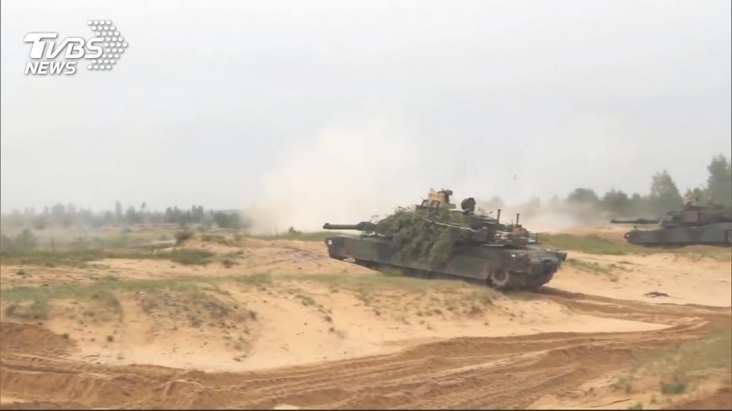 圖/TVBS 媒體質疑美強迫推銷戰車 國防部:與事實不符
