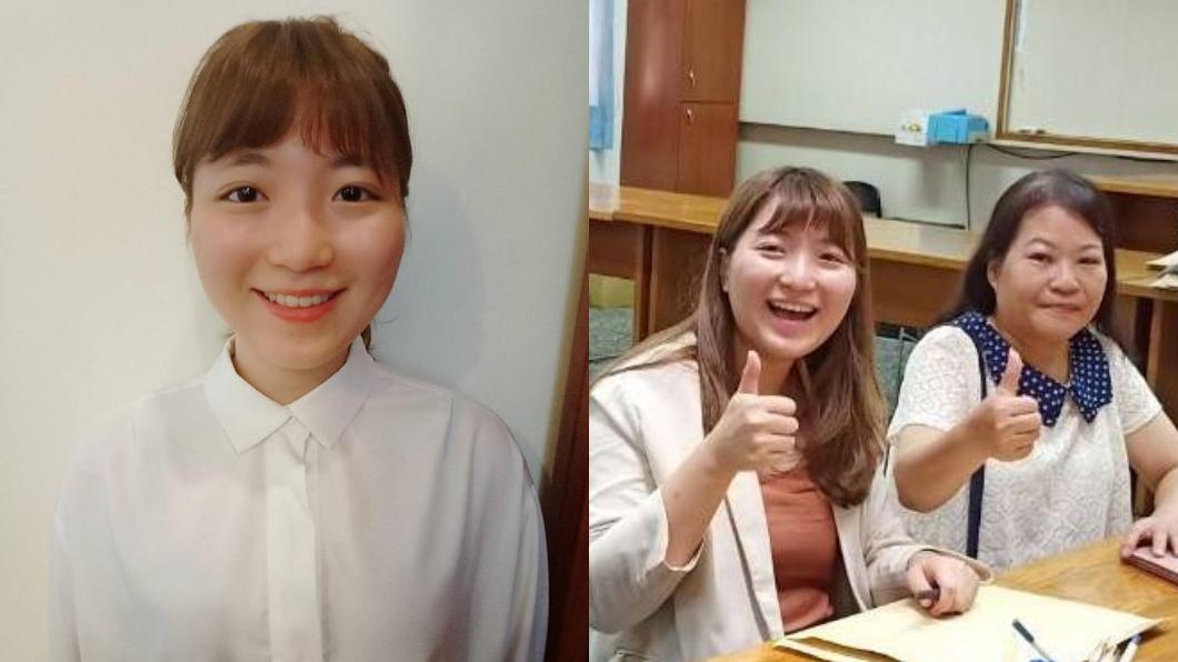 翻攝/黃盈淇臉書 只要1票就能當選!23歲最幼齒「準里長妹」出爐