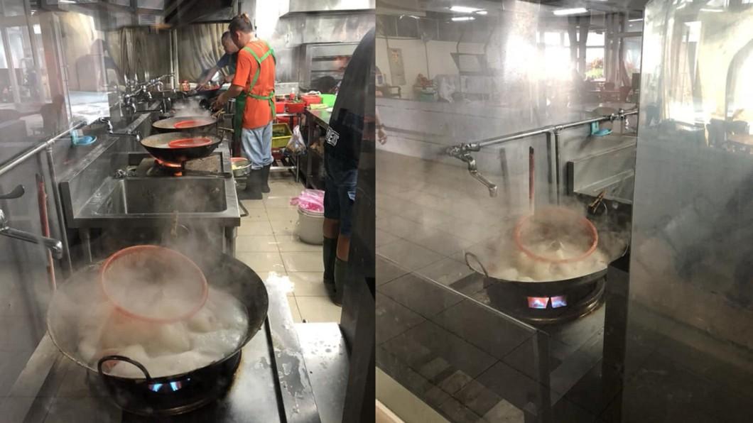 圖/爆料公社 代客料理「塑膠籃下鍋煮」 漁港餐廳喊冤:耐熱無毒