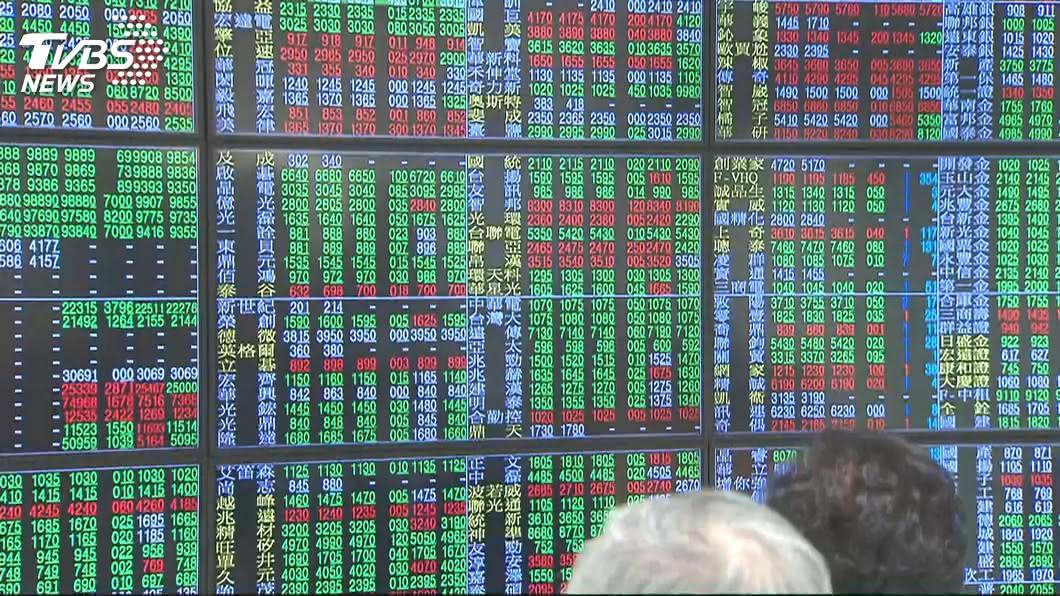 圖/TVBS 台股小幅反彈 面板股表現積極
