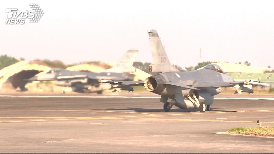 圖/TVBS資料畫面 川普幕僚紛支持售台F-16 但台灣恐沒法很快拿到