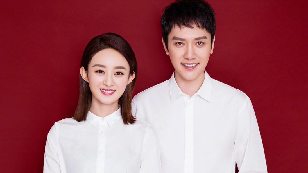 馮紹峰去年10月與趙麗穎宣布結婚。圖/翻攝自趙麗穎微博 結婚10個月驚傳外遇離婚 馮紹峰說話了
