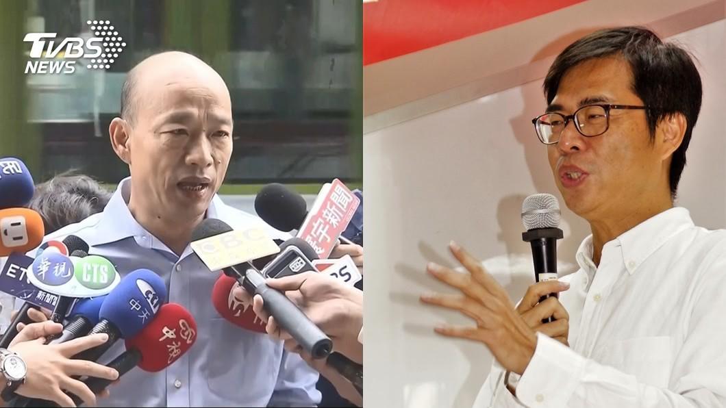 圖/TVBS 韓國瑜追到當選率只差1% 高雄全台選情最膠著!