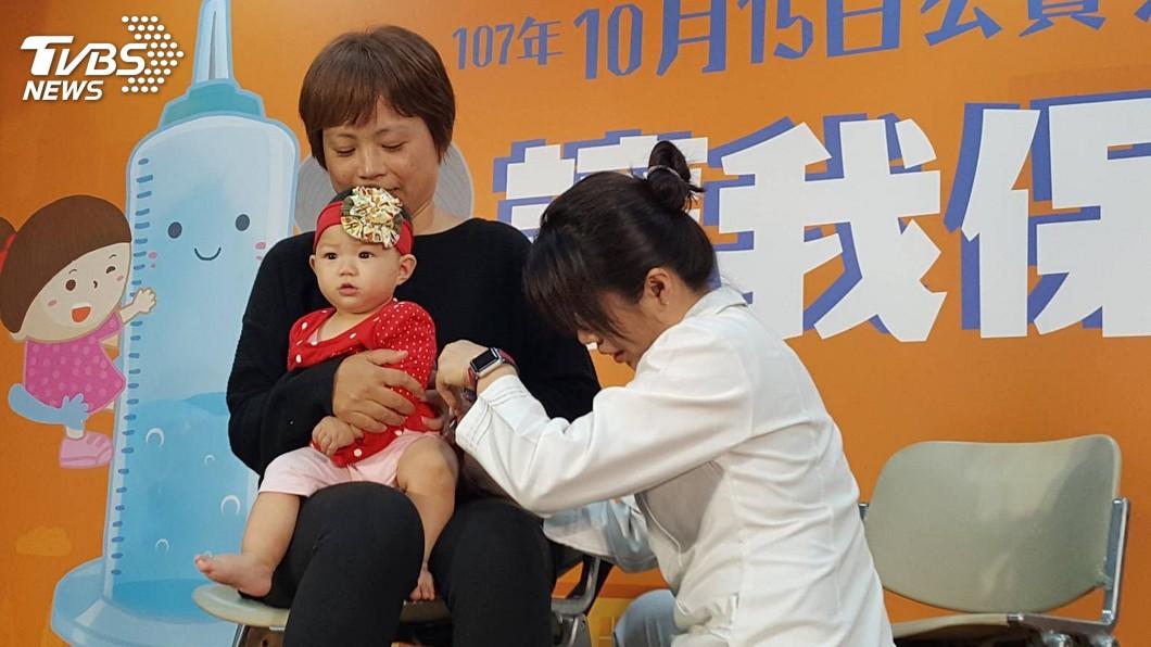 圖/中央社 快打疫苗! 流感疫情在低點但已17人重症