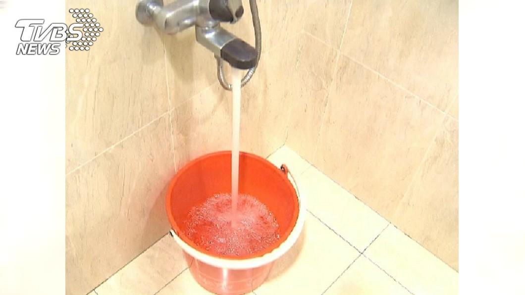 圖/TVBS 中市10區停水23至46小時 市府設臨時取水站