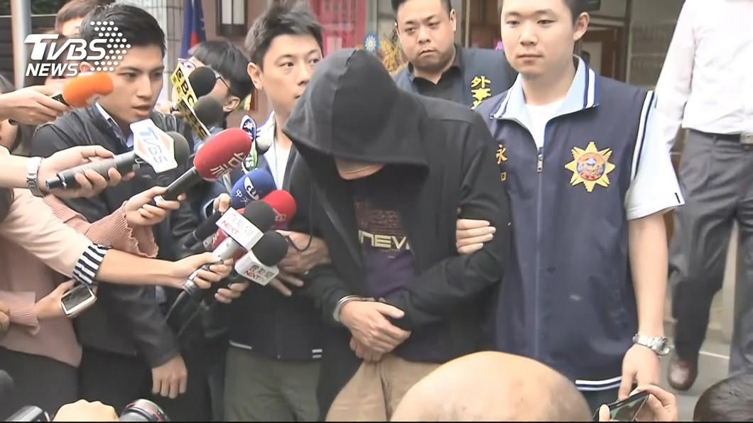 圖/TVBS資料畫面 聞「19歲兒夢中猝死」 永和分屍嫌何傑生當庭崩潰