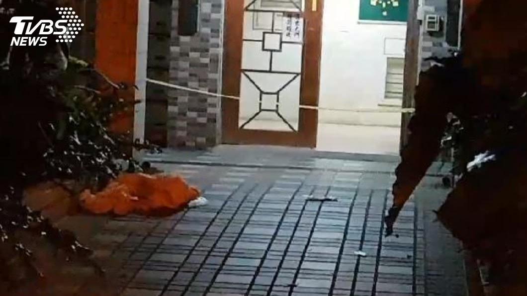 圖/TVBS 桃園驚傳駭人凶案!子殺母「斬首」 頭丟到社區1樓