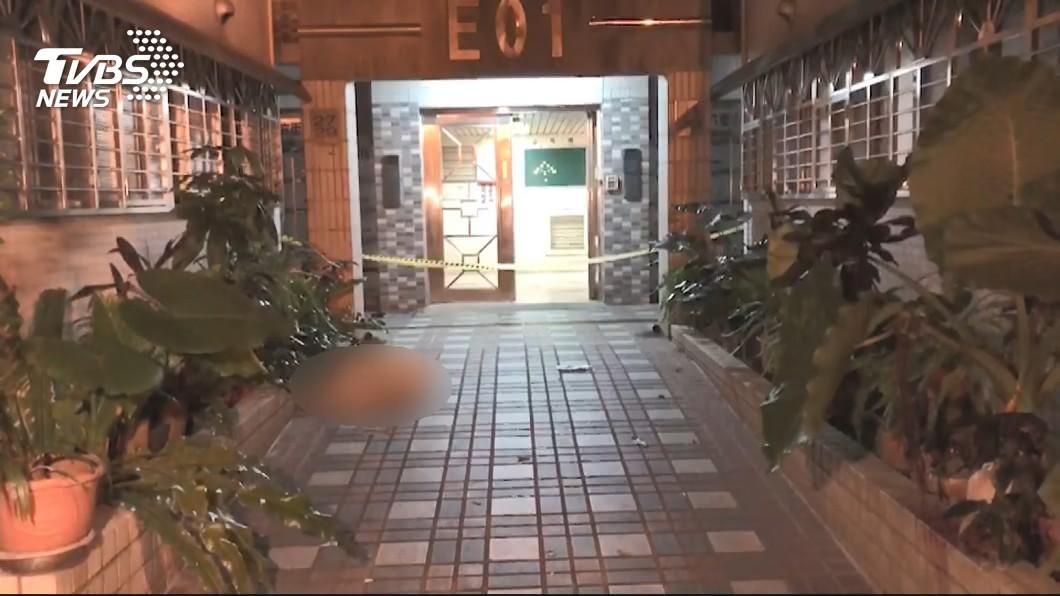 圖/TVBS 桃園弒母案 犯嫌移送檢方時低頭不語