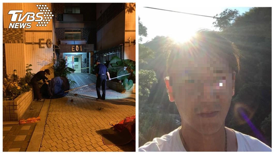 圖/中央社、翻攝臉書 逆子砍母37刀頭顱往下丟 檢方怒求法官處最重之刑