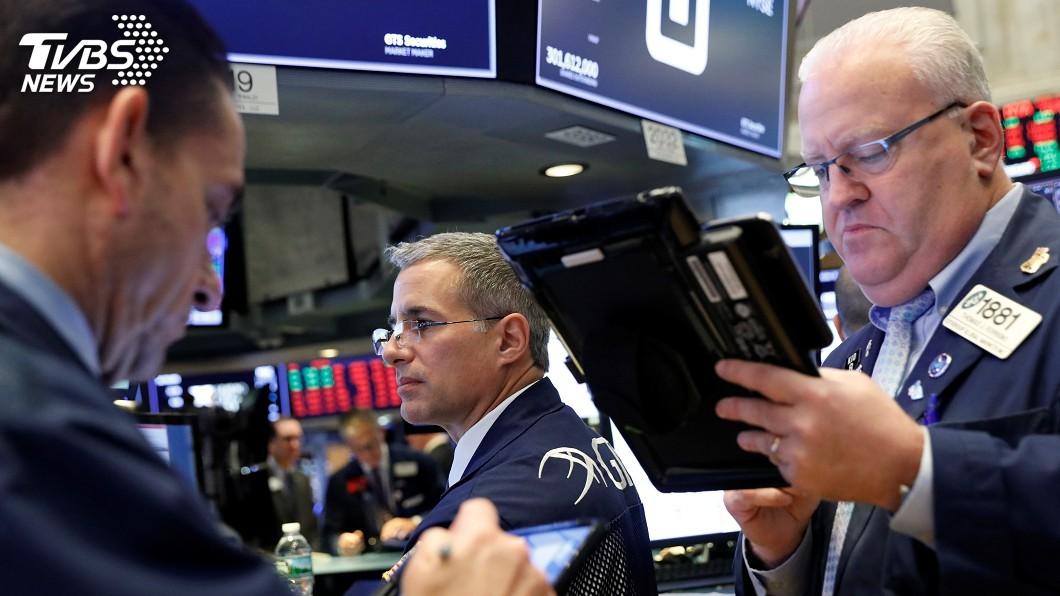 圖/達志影像路透社 中國經濟疑慮加深 美股道瓊指數再挫327點