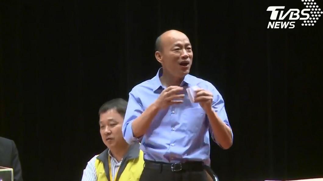 圖/TVBS 綠營倒戈潮!民進黨黑派大老拒見陳其邁改挺韓國瑜
