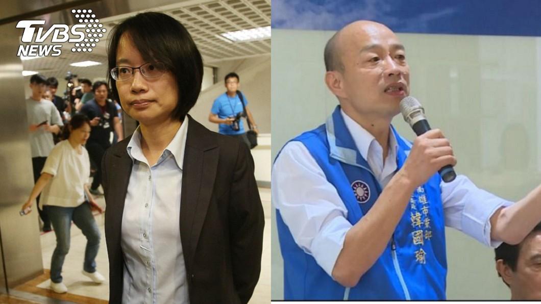 圖/中央社、TVBS 柯P酸綠營硬拔韓國瑜北農總座 吳音寧這樣回應