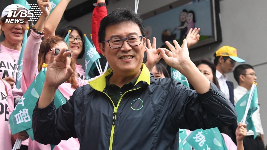 圖/中央社 姚文智:台北是首都 應跟世界自由陣營站在一起