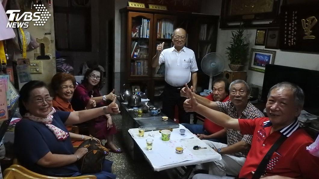 圖/中央社 奉獻一生青春!里長李聰平拚13連任 任期將逾半世紀