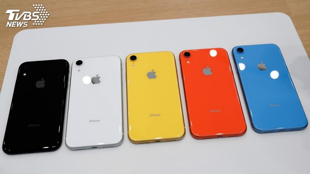 圖/達志影像路透社 iPhone XR官網預購 新色系、小容量最搶手