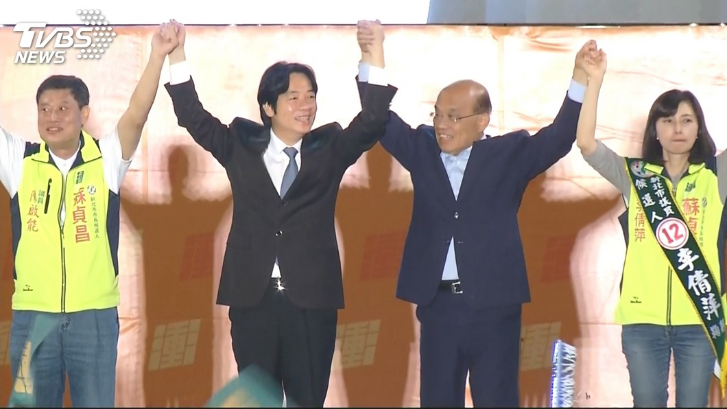 圖/TVBS 新北賭盤開不出來 原本侯讓10萬票只剩3萬