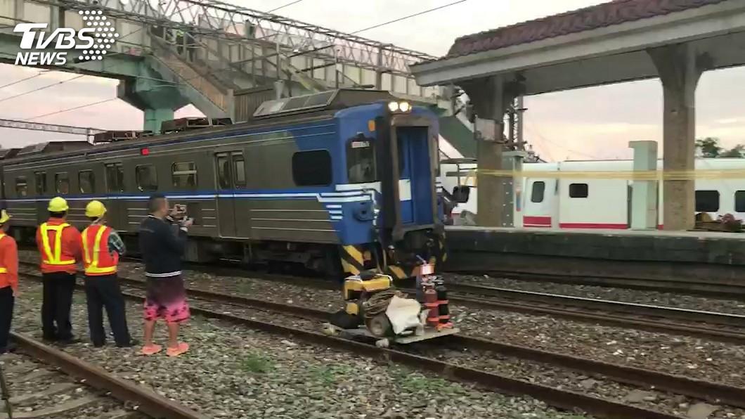 冬山到蘇新間東正線今晨恢復單線雙向通車。圖/TVBS