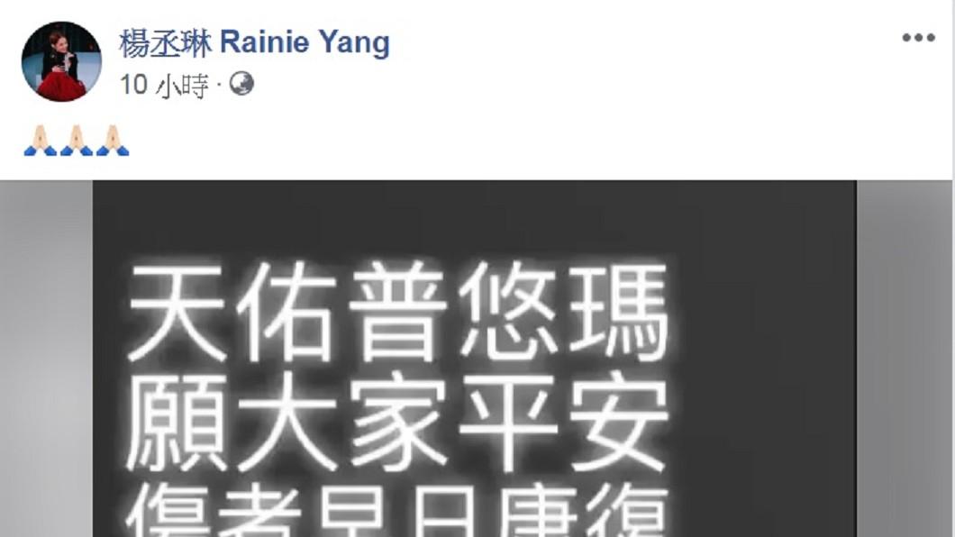 圖/翻攝自楊丞琳臉書