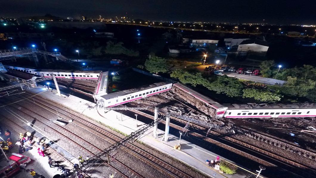 圖/中央社 盤點台灣重大火車事故 普悠瑪18死與60年前駭人相似
