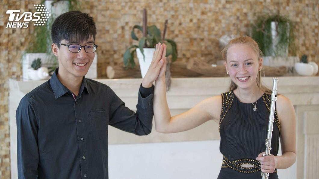 圖/中央社 德國比賽獲佳績! 18歲鋼琴家陳冠偉前途看好