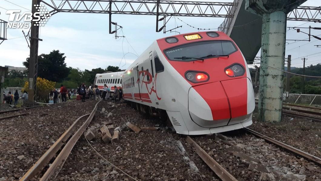 圖/中央社 賴清德找退休司機來頂雙駕駛 台鐵:確實可考慮