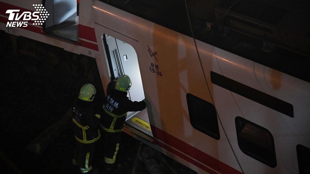 圖/中央社 普悠瑪出軌翻覆事故 傷者158人已出院