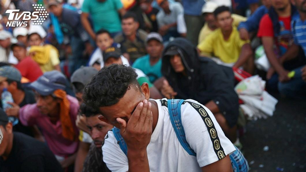 圖/達志影像路透社 逾7千移民湧向美墨邊境 聯合國籲各方合力因應