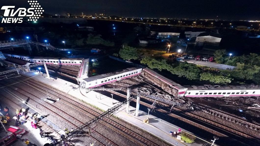 圖/中央社 司機稱故障曾要求停頭城站 站長駁斥:他是說有人誤乘