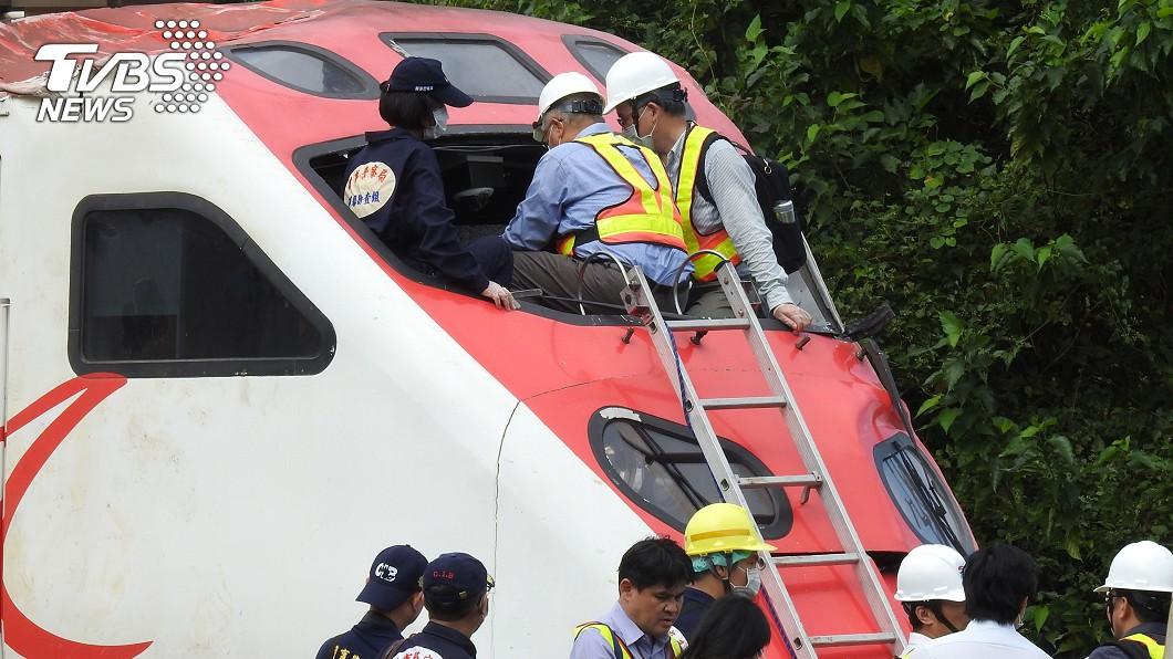 圖/中央社 普悠瑪空壓機出問題 8月曾訓練緊急處理
