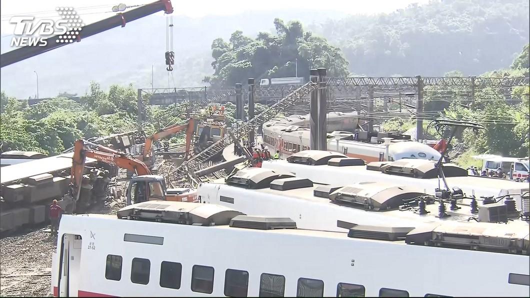 圖/TVBS 普悠瑪事故新馬站路段 截彎取直2022年完工