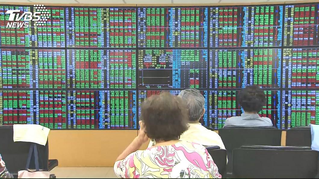 圖/TVBS 台股上攻買盤謹慎 跌破10900點關卡