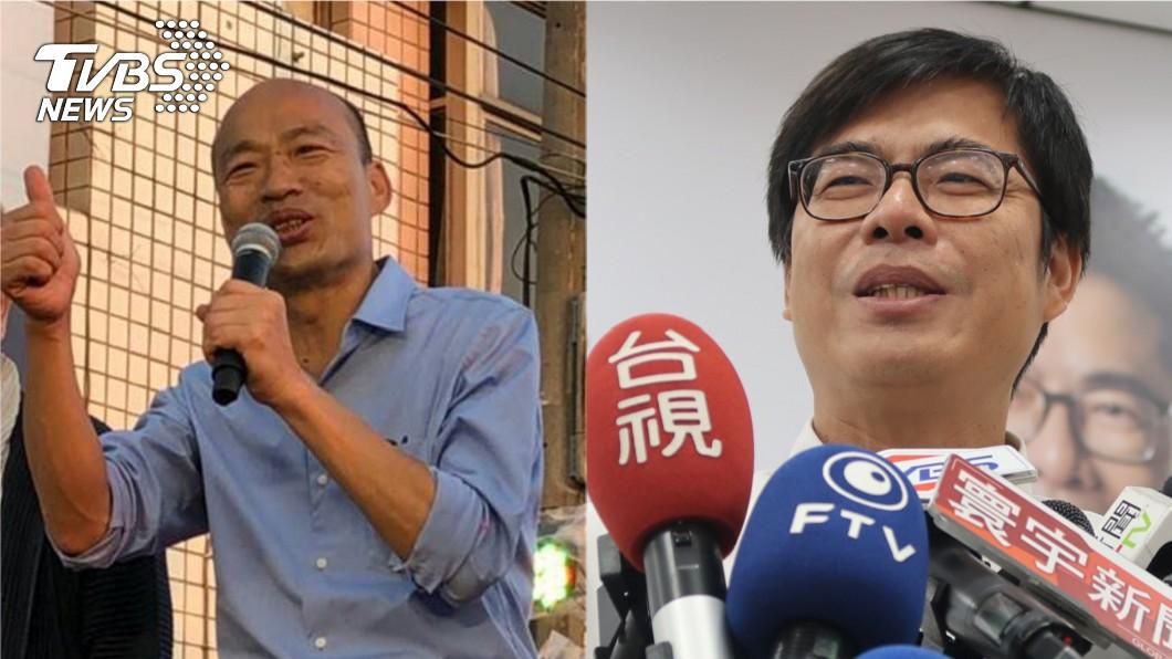 圖/TVBS 遭陳其邁嗆大外行 韓國瑜:我絕對不批判對手