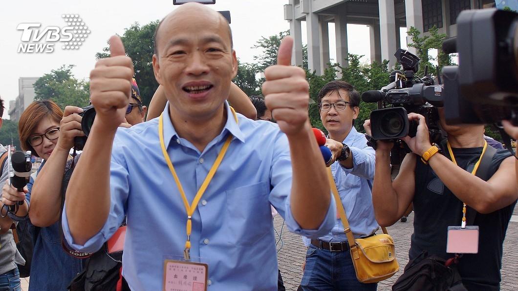 國民黨高雄市長候選人韓國瑜。圖/中央社 沒影響力?深綠倒戈挺韓國瑜 民進黨:他連里長都選不上