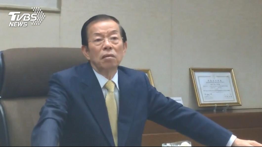 圖/TVBS 反核食公投過關 謝長廷:後果大家共同承擔