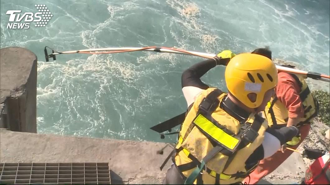 圖/TVBS 找到了!台中港2潛水員失聯 晚間尋獲1遺體