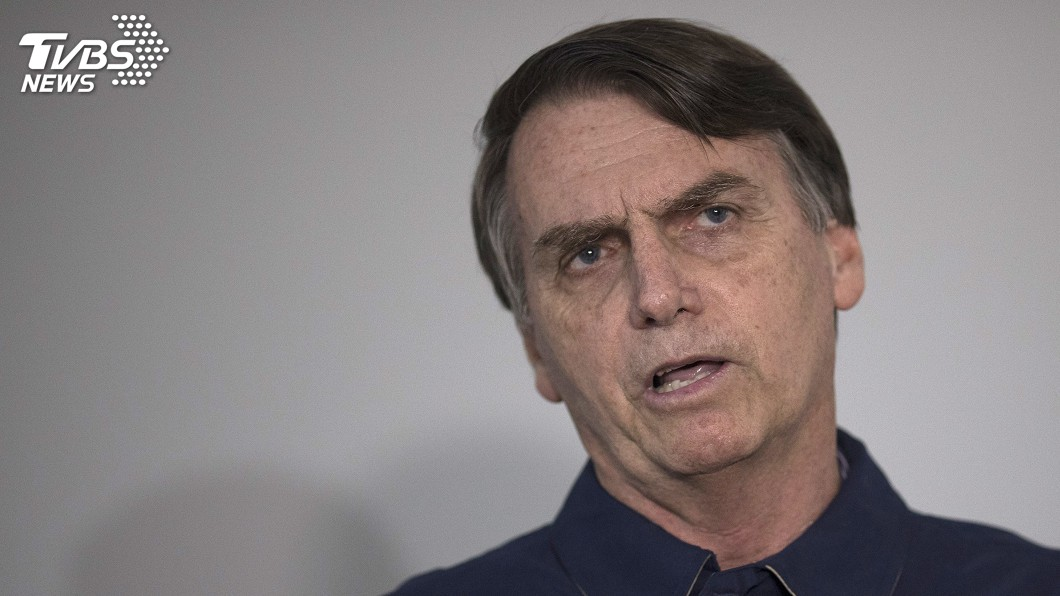 圖/達志影像美聯社 巴西新總統波索納洛 有「熱帶版川普」稱號