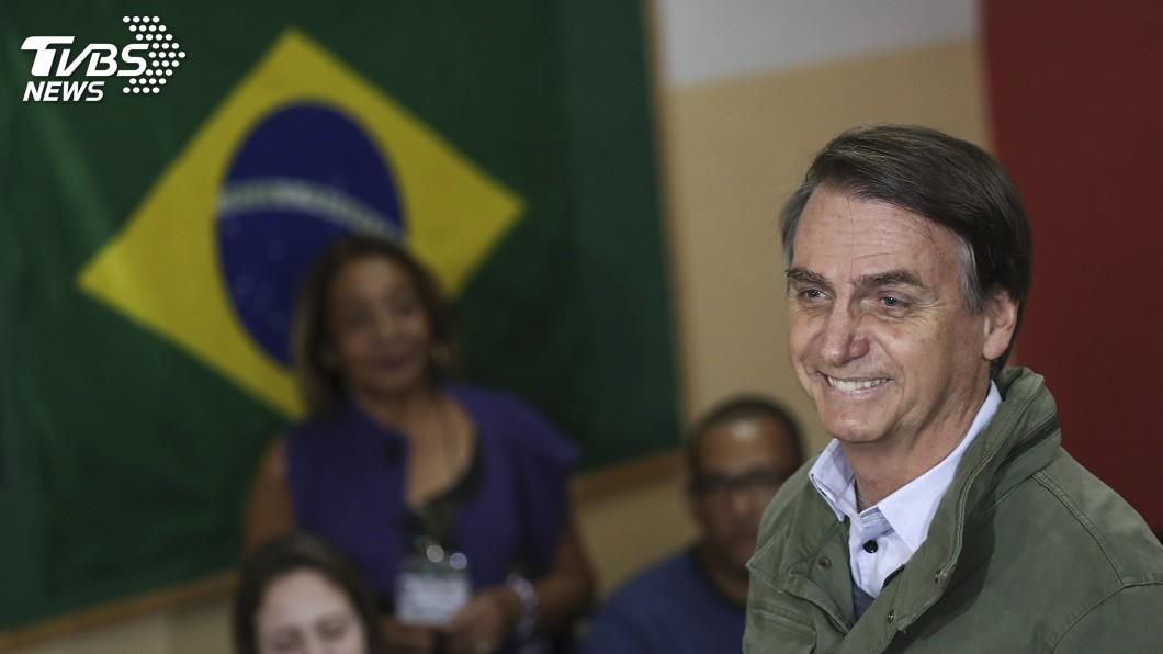 圖/達志影像美聯社 巴西新總統波索納洛 矢言捍衛民主自由