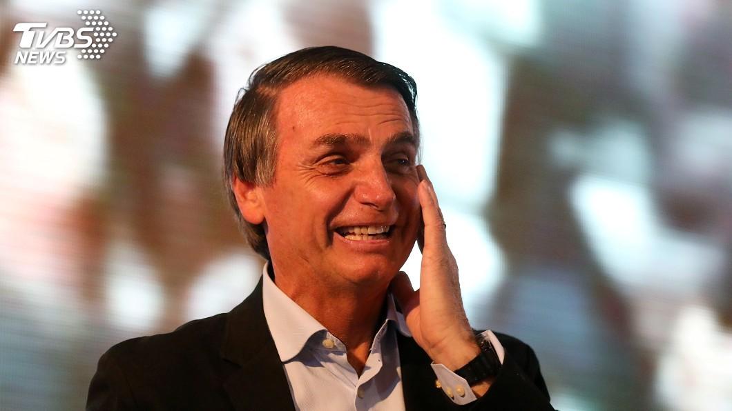 圖/達志影像路透社 體力過人 波索納洛大難不死當上巴西總統