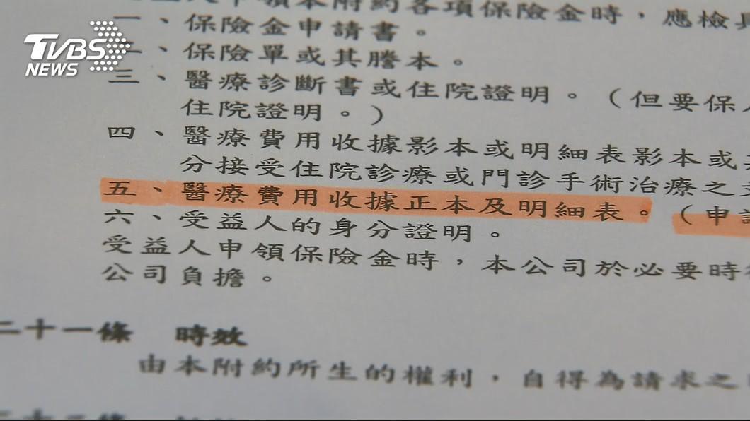 圖/TVBS 實支實付醫療險明起限買3張 注意3大給付重點