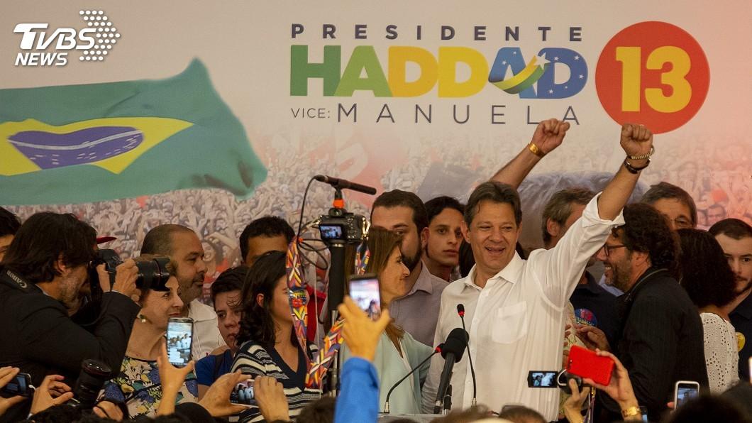 圖/達志影像美聯社 巴西極右派當選總統 左派陣營誓言反抗