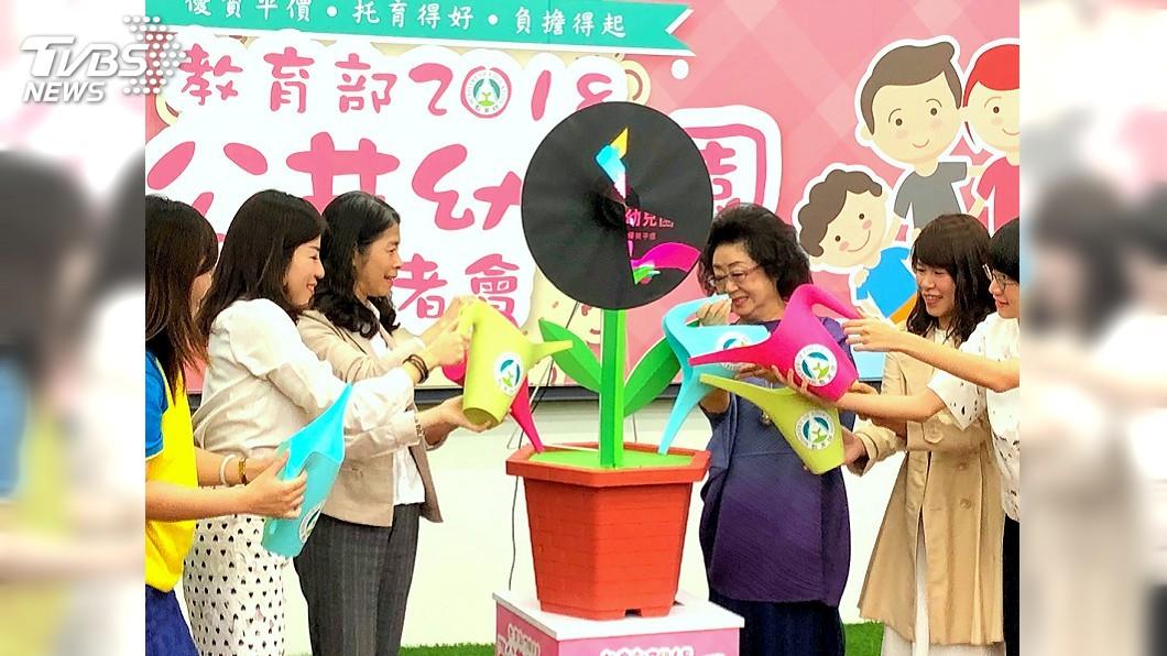 圖/中央社 教部推「準公共幼兒園」 第一階段近4成私幼加入