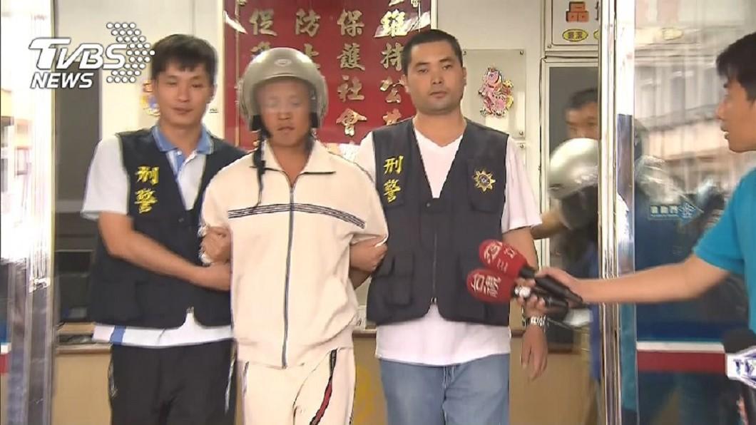 圖/TVBS資料畫面 竹東少女遭性侵焚屍 更二審判主嫌林春雄死刑