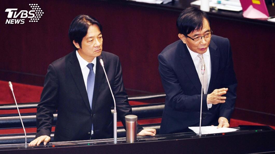圖/中央社 在野立委促撤換吳宏謀 賴揆:責任釐清後決定